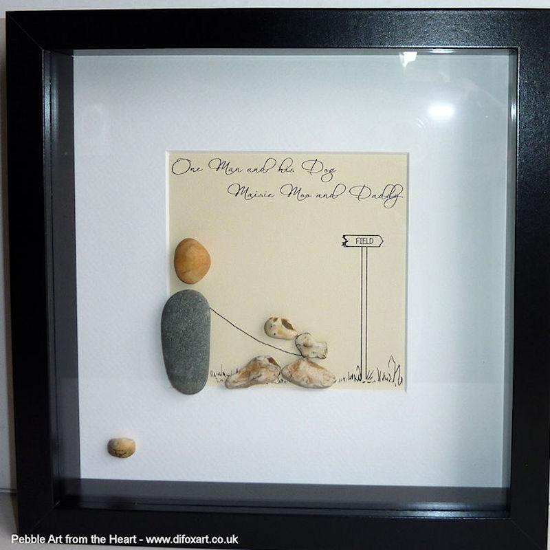 pebble art gallery pebble art from the heart di fox artist