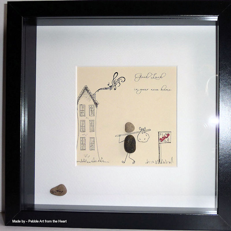 pebble art gallery - pebble art from the heart