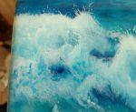 Ocean Dream sea foam detail